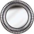Kenroy Home Inga Wall Mirror, Silver Plate Finish