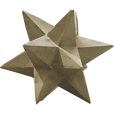 Kenroy Home Garden Dimensional Star, Sandstone Finish