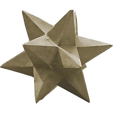 Kenroy Home Garden Dimensional Star, Sandstone Finish