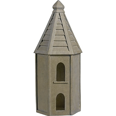 Kenroy Home Garden Bird House, Tuscan Earth Finish