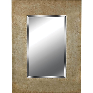Kenroy Home Sheen Wall Mirror, Golden Copper Finish