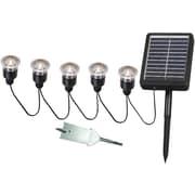 Kenroy Home Solar Light String, Black Finish