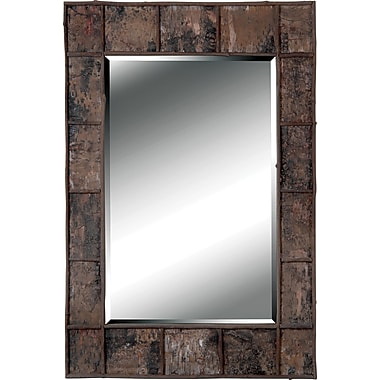 Kenroy Home Birch Bark Wall Mirror, Birch Bark Finish