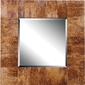 Kenroy Home Caribe Wall Mirror, Natural Banana Leaf Finish