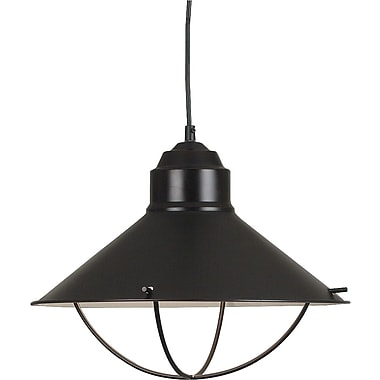 Kenroy Home Harbour 1 Light Pendant, Oil Rubbed Bronze Finish