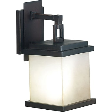 Kenroy Home Plateau Medium Wall Lantern, Oil Rubbed Bronze Finish