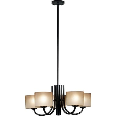 Kenroy Home Matrielle 5 Light Chandelier, Oil Rubbed Bronze Finish
