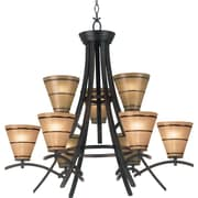 Kenroy Home Wright 9 Light Chandelier, Oil Rubbed Bronze Finish