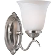 Kenroy Home Medusa 1 Light Wall Sconce, Brushed Steel Finish