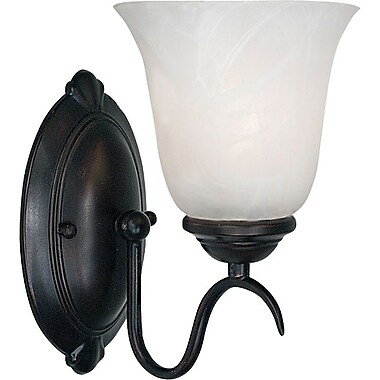 Kenroy Home Medusa 1 Light Wall Sconce, Oil Rubbed Bronze Finish