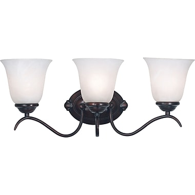 Kenroy Home Medusa 3 Light Vanity, Oil Rubbed Bronze Finish