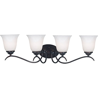 Kenroy Home Medusa 4 Light Vanity, Oil Rubbed Bronze Finish
