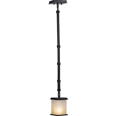 Kenroy Home Plateau 1 Light Mini Pendant, Oil Rubbed Bronze Finish