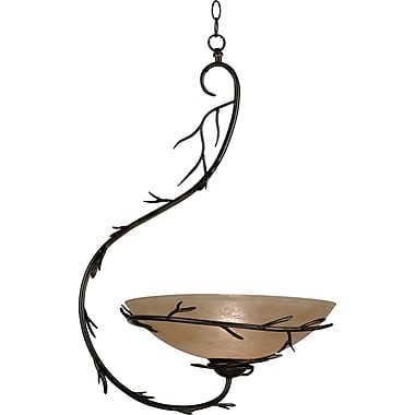 Kenroy Home Twigs 1 Light Pendant, Bronze Finish