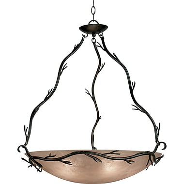 Kenroy Home Twigs 5 Light Pendant, Bronze Finish