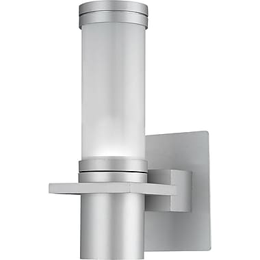 Kenroy Home Cilindro 1 Light Wall Sconce, Silver Finish