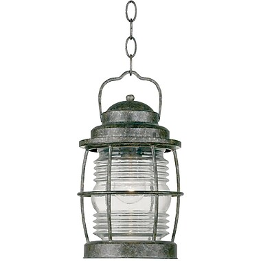 Kenroy Home Beacon Hanging Lantern, Flint Finish