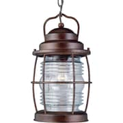 Kenroy Home Beacon Hanging Lantern, Gilded Copper Finish