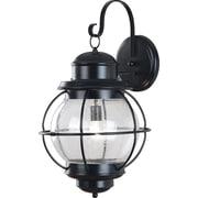 Kenroy Home Hatteras 1 Light xL Wall Lantern, Black Finish