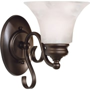 Kenroy Home Wynwood 1 Light Wall Sconce, Burnished Bronze Finish