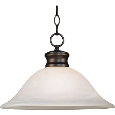 Kenroy Home Wynwood 1 Light Downlight Pendant, Burnished Bronze Finish