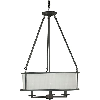 Kenroy Home Naples 3 Light Pendant, Mercury Bronze Finish