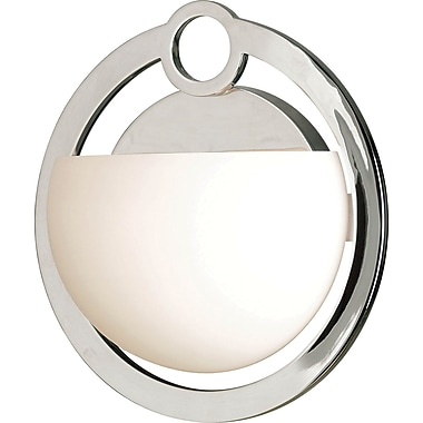 Kenroy Home Nova 1 Light Wall Sconce, Chrome Finish