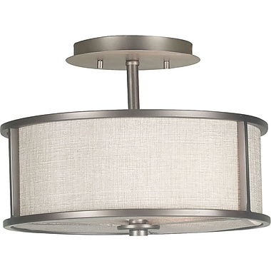 Kenroy Home Whistler 2 Light Semi-flush, Bronze Gilt Finish