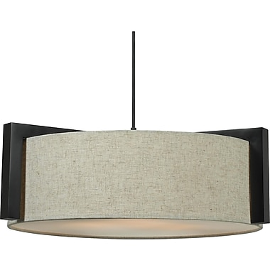 Kenroy Home Teton 3 Light Pendant, Madera Bronze Finish