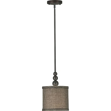 Kenroy Home Margot 1 Light Mini Pendant, Oil Rubbed Bronze Finish