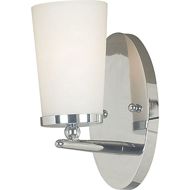 Kenroy Home Aerial 1 Light Wall Sconce, Polished Nickel Finish