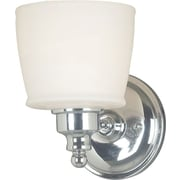 Kenroy Home Riley 1 Light Wall Sconce, Chrome Finish