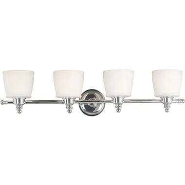 Kenroy Home Riley 4 Light Vanity, Chrome Finish