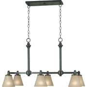 Kenroy Home Tallow 6 Light Chandelier, Bronze Patrina Finish