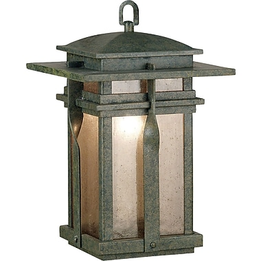 Kenroy Home Carrington Hanging Lantern, Rust Finish