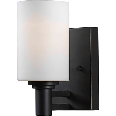 Kenroy Home Slender 1 Light Wall Sconce, Oil Rubbed Bronze Finish