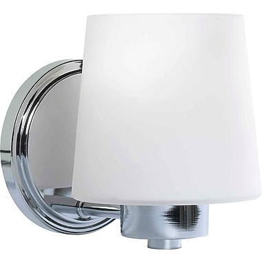 Kenroy Home Marilyn 1 Light Wall Sconce, Chrome Finish