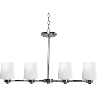 Kenroy Home Marilyn 4 Light Island Light, Chrome Finish