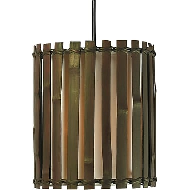 Kenroy Home Grove 1 Light Mini Pendant, Bronze Finish