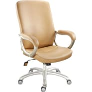 Staples Kellner Bonded Leather Managers Chair, Tan