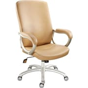 Staples Kellner™ Bonded Leather Managers Chair, Tan
