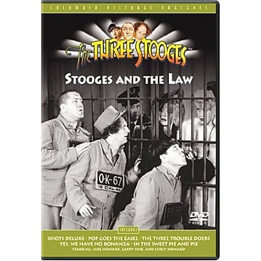 Three Stooges: Stooges and the Law