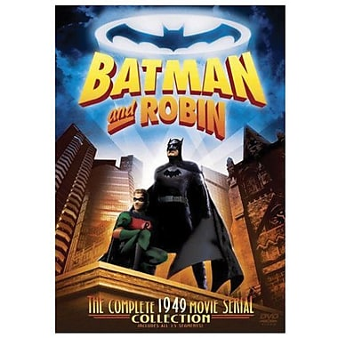 Batman & Robin: Complete 1949 Movie Serial Collection