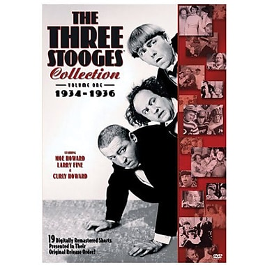 Three Stooges Collection: Volume 1 (1934-1936)