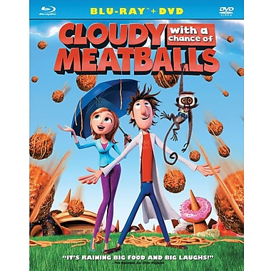 Cloudy With a Chance of Meatballs (Blu-Ray + DVD)