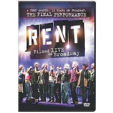 Rent: Filmed Live