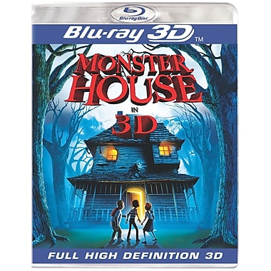 Monster House 3D Version Blu-ray Disc