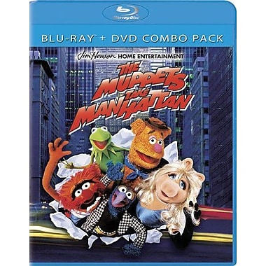 Muppets Take Manhattan(Blu-Ray + DVD)