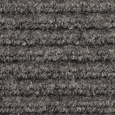 Apache Mills - Ribbed Entrance Mat, 4' x 6' - Grey