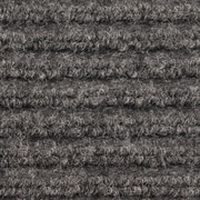Apache Mills - Ribbed Entrance Mat, 2' x 3' - Grey